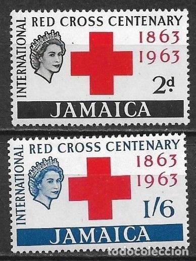 JAMAICA 1963 ** NUEVO - 5/35 (Sellos - Temáticas - Cruz Roja)