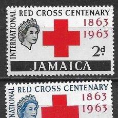 Sellos: JAMAICA 1963 ** NUEVO - 5/35. Lote 167875492
