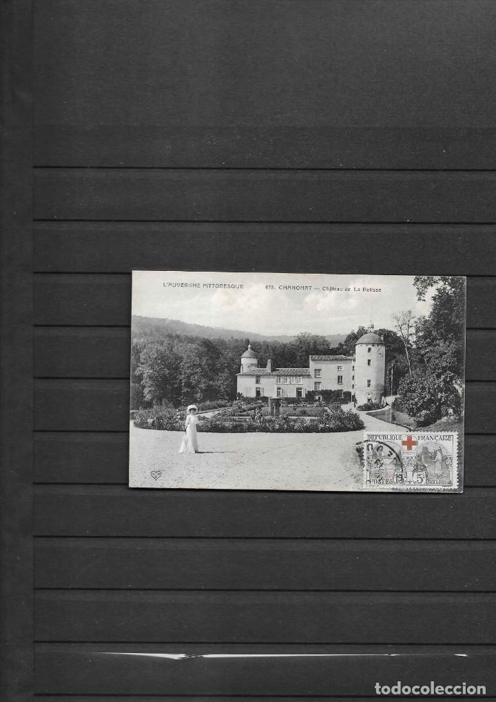 CRUZ ROJA DE FRANCIA TARJETA POSTAL CIRCULADA EN 1919 (Sellos - Temáticas - Cruz Roja)