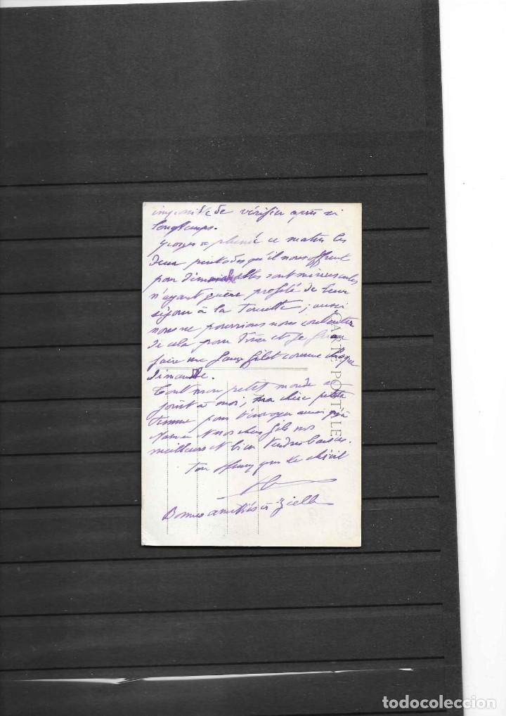 Sellos: CRUZ ROJA DE FRANCIA TARJETA POSTAL CIRCULADA EN 1919 - Foto 2 - 195283887