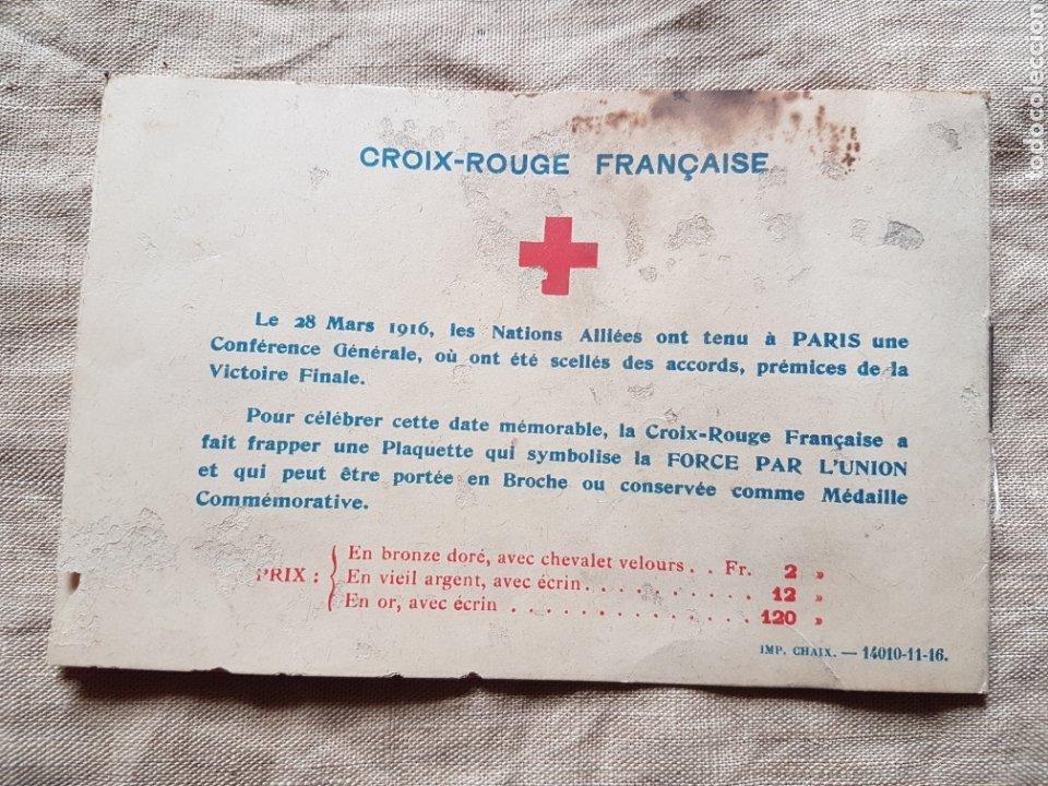 Sellos: Album sellos cruz roja francia primera guerra Verdun w - Foto 3 - 199207625
