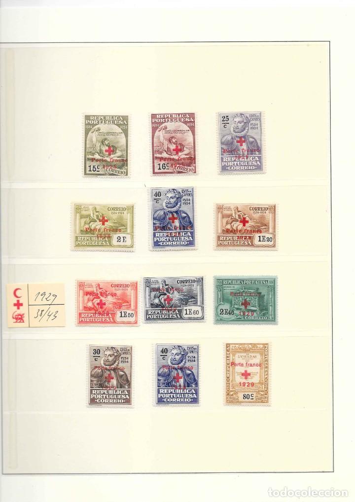Sellos: PORTUGAL COLECCION DE FRANQUICIAS AÑOS 1914 AL 1947 SERIES NUEVAS - Foto 2 - 208436761