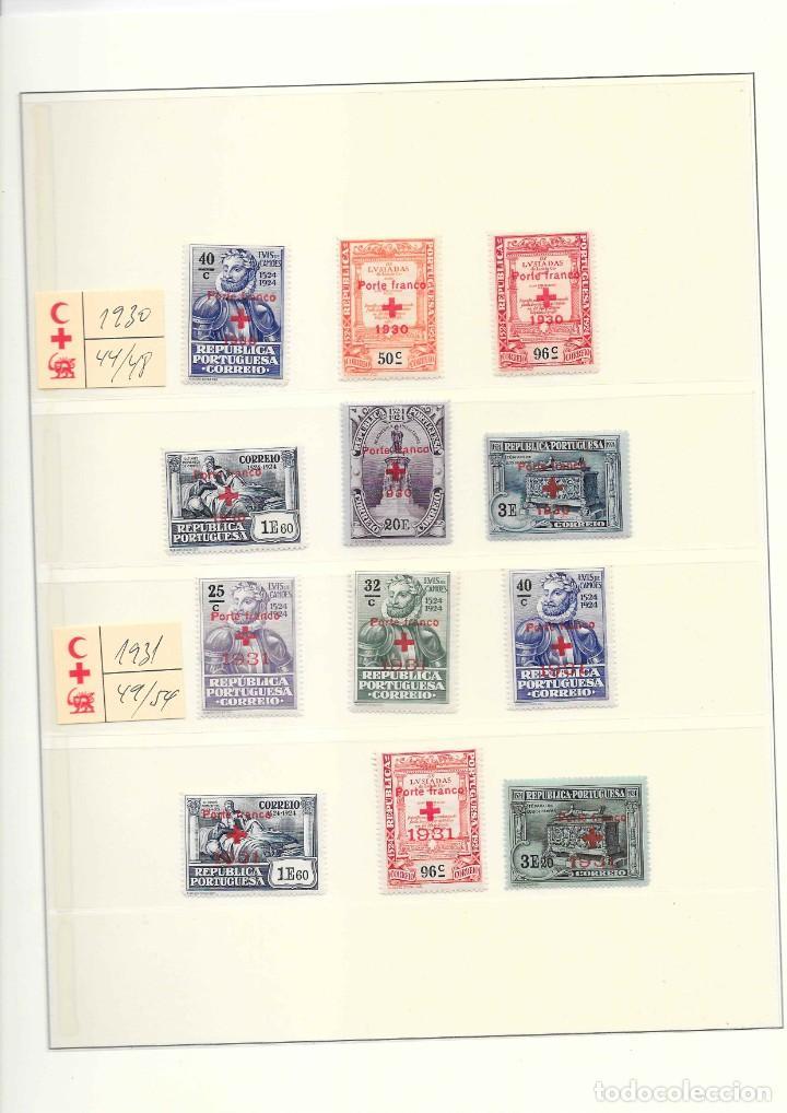 Sellos: PORTUGAL COLECCION DE FRANQUICIAS AÑOS 1914 AL 1947 SERIES NUEVAS - Foto 3 - 208436761