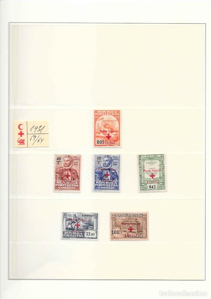 Sellos: PORTUGAL COLECCION DE FRANQUICIAS AÑOS 1914 AL 1947 SERIES NUEVAS - Foto 4 - 208436761