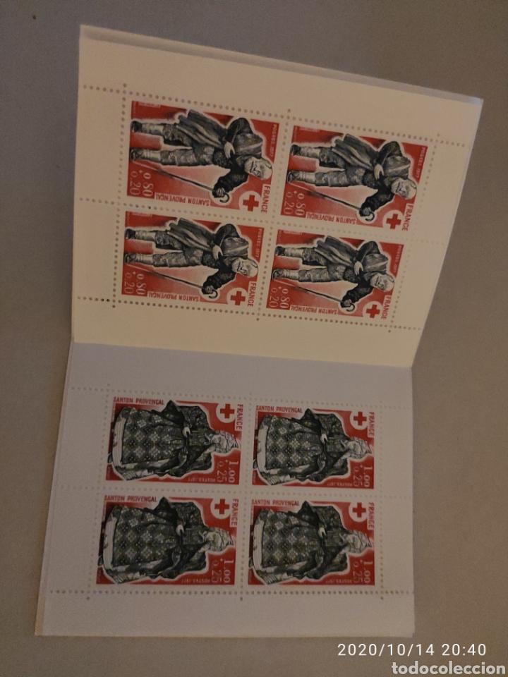 Sellos: Carnet Francia cruz roja 1977 - Foto 2 - 220988983