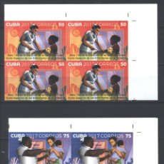 Sellos: 6257NP-4 CUBA 2017 MNH THE 130TH ANNIVERSARY OF CHILDREN'S NURSES. Lote 226311161