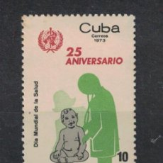 Sellos: 1866-2 CUBA 1973 MNH THE 25TH ANNIVERSARY OF W.H.O. Lote 228165461