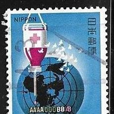 Timbres: 1974-JAPÓN. DONANTES DE SANGRE DE LA CRUZ ROJ A. Lote 248407900