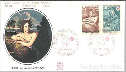 FDC 1969 (Sellos - Temáticas - Cruz Roja)