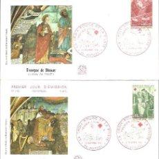Sellos: FDC 1970 FRANCIA. Lote 232664115