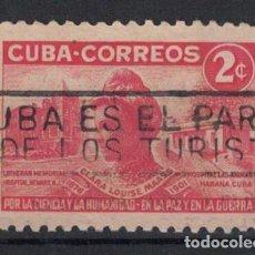 Sellos: 273-3 CUBA 1951 U THE 50TH ANNIVERSARY OF THE DEATH OF CLARA MAASS, NURSE. Lote 236770520