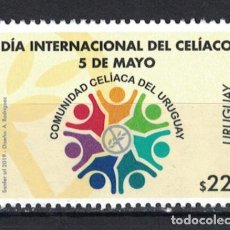 Sellos: UY3657 URUGUAY 2019 MNH INTERNATIONAL CELIAC DAY. Lote 236771070