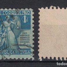 Sellos: 3-3 CUBA 1940 U TAX FOR CHILDREN'S HOSPITALS. Lote 236771335