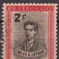 Sellos: 359-4 CUBA 1952 U C. A. DE LA TORRE. Lote 238901585