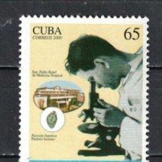 Sellos: CUBA 2000 THE 100TH ANNIVERSARY OF THE BIRTH OF DR. PEDRO KOURI ESMEJA MNH - THE MEDICINE, DOCTORS. Lote 241370495