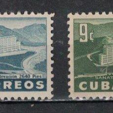 Sellos: CUBA 1954 GENERAL BATISTA SANATORIUM NG - THE MEDICINE. Lote 241370635