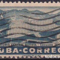 Sellos: CUBA 1954 GENERAL BATISTA SANATORIUM U - THE MEDICINE, HOTELS. Lote 241370660