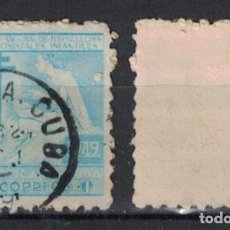 Sellos: CUBA 1949 TAX FOR THE NATIONAL COUNCIL OF TUBERCOLOSIS FUND U - THE MEDICINE. Lote 241390550
