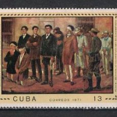 Sellos: CUBA 1971 THE 100TH ANNIVERSARY OF THE EXECUTION OF MEDICAL STUDENTS MNH - THE MEDICINE, REVOLUTIO. Lote 241635070