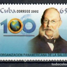 Sellos: CUBA 2002 THE 100TH ANNIVERSARY OF THE PAN AMERICAN HEALTH ORGANIZATION MNH - SCIENTISTS, THE MEDI. Lote 241641930