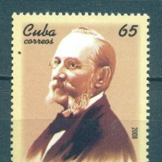Sellos: CUBA 2008 THE 175TH ANNIVERSARY OF THE BIRTH OF CARLOS J. FINLAY, 1833-1915 MNH - SCIENTISTS, THE. Lote 241643050