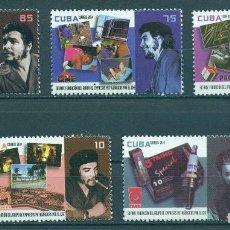 Sellos: CUBA 2014 CHE GUEVERA, 1928-1967 MNH - EQUIPMENT, THE MEDICINE, ERNESTO CHEGEVARA, TECHNOLOGY, SCI. Lote 241643900