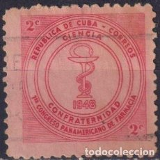 Sellos: ⚡ DISCOUNT CUBA 1948 THE 1ST PAN-AMERICAN PHARMACEUTICAL CONGRESS U - THE MEDICINE. Lote 255640870