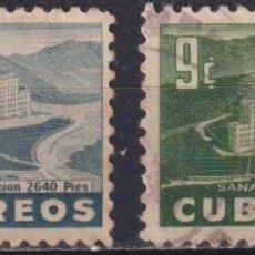 Sellos: ⚡ DISCOUNT CUBA 1954 GENERAL BATISTA SANATORIUM U - THE MEDICINE, HOTELS. Lote 255641655