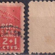 Sellos: ⚡ DISCOUNT CUBA 1938 INTERNATIONAL ANTI-CANCER FUND U - THE MEDICINE. Lote 255642060