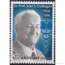 Sellos: ⚡ DISCOUNT URUGUAY 2008 THE 100TH ANNIVERSARY OF THE BIRTH OF JUAN CROTTOGINI MNH - THE MEDI. Lote 270390583