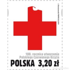 Sellos: ⚡ DISCOUNT POLAND 2019 THE 100TH ANNIVERSARY OF THE POLISH RED CROSS MNH - THE MEDICINE. Lote 276607713