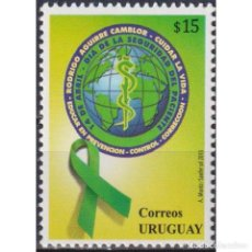Sellos: ⚡ DISCOUNT URUGUAY 2013 DAY OF PATIENT SAFETY MNH - THE MEDICINE. Lote 289980418