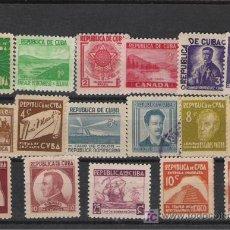 Sellos: CUBA SERIE NUEVA UN SELLO MATASELLADO ALTISIMO VALOR DE CATALOGO . Lote 27111877