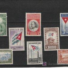 Sellos: CUBA SERIE NUEVA PERFECTA. Lote 7295267