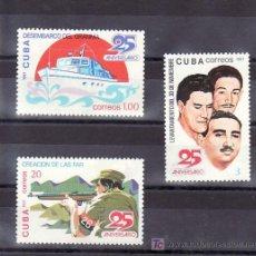 Sellos: CUBA 2307/9 SIN CHARNELA, BARCO, ANIVERSARIOS, . Lote 9149138