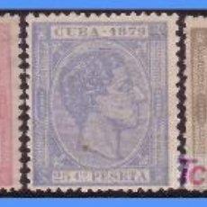 Sellos: 1879 ALFONSO XII, SERIE CORTA (*). Lote 9295972