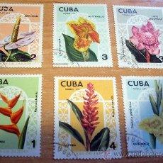 Sellos: 6 SELLOS DIFERENTES DE CUBA. Lote 18724721