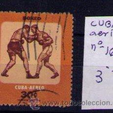 Sellos: CUBA - BOXEO - YVERT Nº 162 AEREO - USED. Lote 18742569