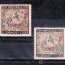 Sellos: CUBA 468/9 SIN CHARNELA, NAVIDAD, . Lote 19530203