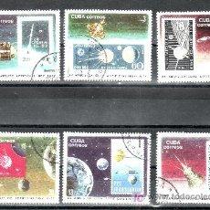 Sellos: CUBA 1999/2004 USADA, ESPACIO, XX ANIVERSARIO DEL PRIMER SATELITE ARTIFICIAL -SPOUTNIK-. Lote 261693230