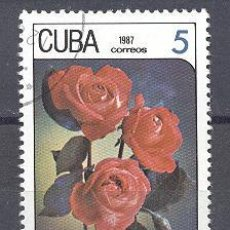 Sellos: CUBA, 1987, NUEVOS, PREOBLITERADOS, SIN CHARNELA. Lote 21883144