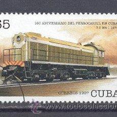 Sellos: CUBA, 1997, NUEVOS, PREOBLITERADOS, SIN CHARNELA. Lote 21883361