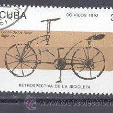 Sellos: CUBA, 1993, NUEVOS, PREOBLITERADOS, SIN CHARNELA. Lote 21883431