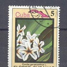 Sellos: CUBA, 1983,NUEVOS,PREOBLITERADOS, SIN CHARNELA- FLORES CUBANAS. Lote 21884246