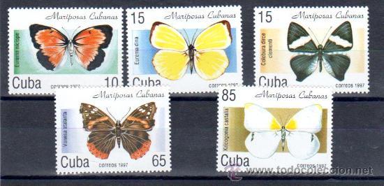 SERIE COMPLETA DE CUBA (Sellos - Extranjero - América - Cuba)