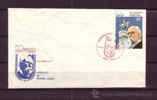 CUBA SPD 2681 - AÑO 1986 - 150º ANIVERSARIO DEL NACIMIENTO DE MAXIMO GOMEZ (Sellos - Extranjero - América - Cuba)