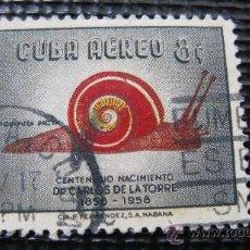 Francobolli: 1958 CUBA AEREO, YVERT 182. Lote 29325090