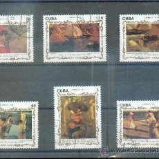 Sellos: PINTURAS MUSEO NACIONAL.- TEMÁTICA PINTURAS. Lote 33553588
