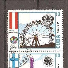 Sellos: CUBA - CORREO AEREO 1978. Lote 161384940