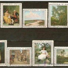 Sellos: CUBA YVERT NUM. 1255/61 SERIE COMPLETA USADA. Lote 36576165